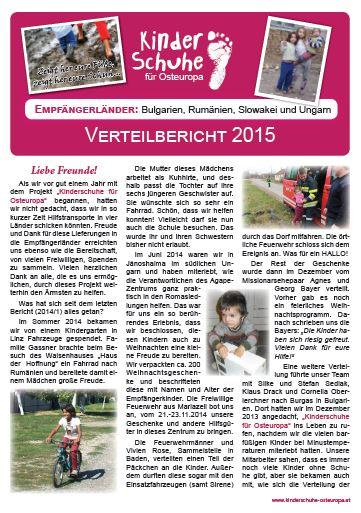 Bericht 2015